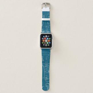 Bracelet Apple Watch Motif graphique nautique de modèle