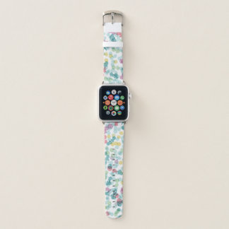 Bracelet Apple Watch Motif heureux génial de à petits pois d'été