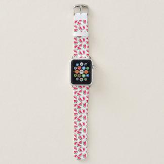 Bracelet Apple Watch Motif mignon d'ananas et de pastèque