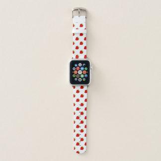 Bracelet Apple Watch Motif mignon de fraise