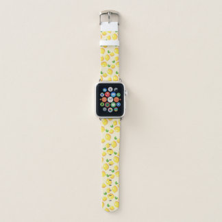 Bracelet Apple Watch Motif mignon superbe de citron