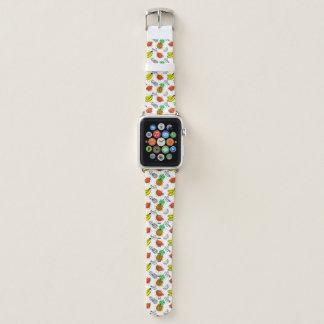 Bracelet Apple Watch Motif sans couture de graphique de vecteur