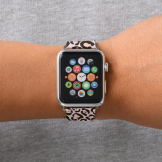 Bracelet Apple Watch Motif sauvage de poster de animal de chat de