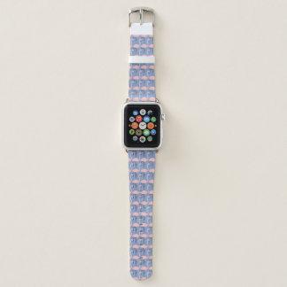 Bracelet Apple Watch Motif tendre de flamant