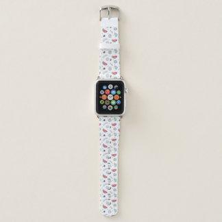 Bracelet Apple Watch Motif tropical d'été de style de Memphis