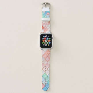 Bracelet Apple Watch Motif vibrant de tuile