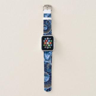 Bracelet Apple Watch Nautilus bleu électrique