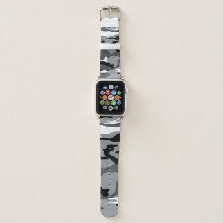 Bracelet Apple Watch Neige arctique Camo