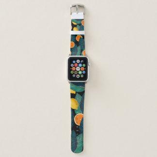 Bracelet Apple Watch Oranges et citrons
