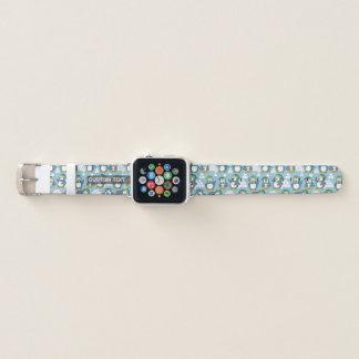 Bracelet Apple Watch Petit arrière - plan de pingouins
