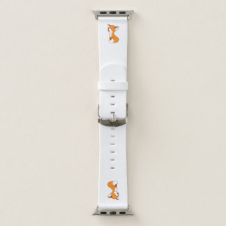 Bracelet Apple Watch Petit Fox somnolent mignon