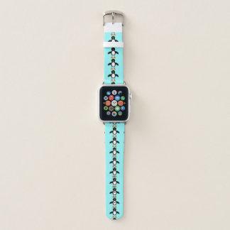 Bracelet Apple Watch Pingouin mignon