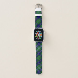 Bracelet Apple Watch Plaid de tartan écossais de Douglas de clan de