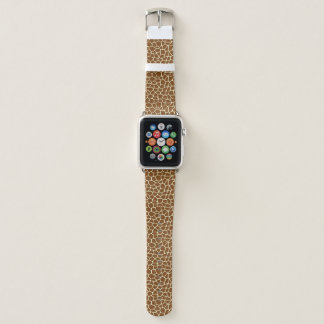 Bracelet Apple Watch Poster de animal sauvage de motif de girafe