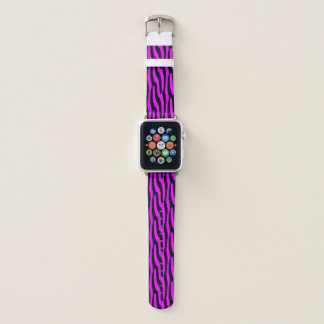 Bracelet Apple Watch Poster de animal sauvage rose impertinent