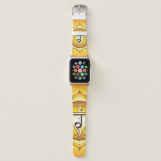 Bracelet Apple Watch Puissance personnelle Chakra