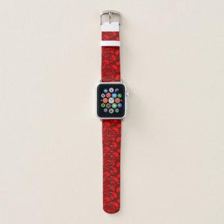 Bracelet Apple Watch punk de crâne