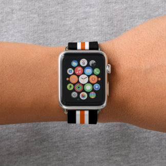 Bracelet Apple Watch Rayure de emballage orange
