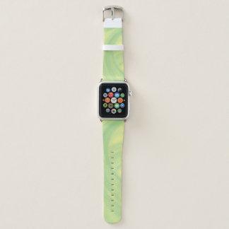 Bracelet Apple Watch Remous de chaux de citron