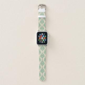 Bracelet Apple Watch Rétro motif vintage élégant de damassé