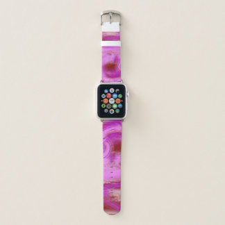 Bracelet Apple Watch Rose et rouge d'amour de Valentine