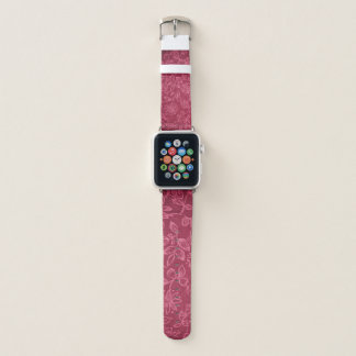 Bracelet Apple Watch Rose floral de motif