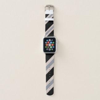 Bracelet Apple Watch Rose/gris/noir