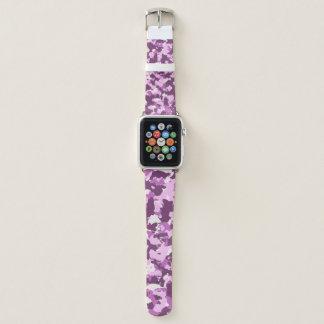 Bracelet Apple Watch Rose rose Camo