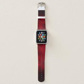 Bracelet Apple Watch Rouge repéré - bande de montre d'Apple