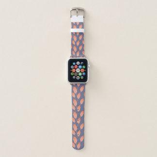 Bracelet Apple Watch Série sans couture 2 de motif de feuille tropical