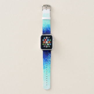 Bracelet Apple Watch Taches d'Aqua - bande de montre d'Apple