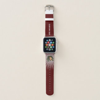 Bracelet Apple Watch Tête de méduse