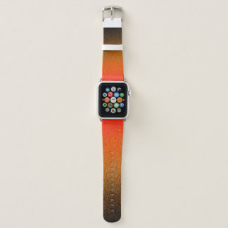 Bracelet Apple Watch Tirets de coucher du soleil - bande de montre