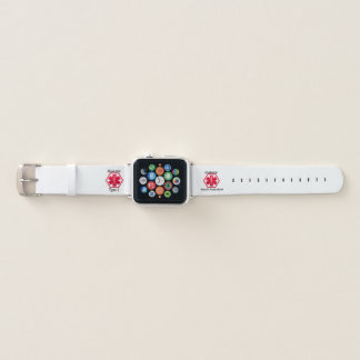 Bracelet Apple Watch Type 1 diabétique