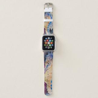 Bracelet Apple Watch Vieille carte d'hippocampe