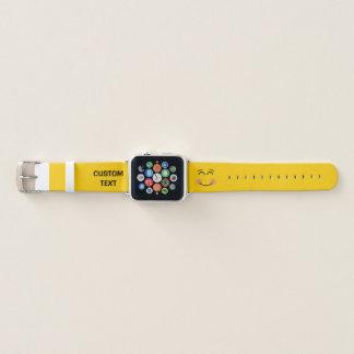 Bracelet Apple Watch Visage de sourire avec les yeux de sourire
