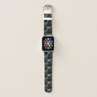 Bracelet Apple Watch Yeux bleus de chat siamois