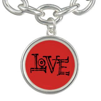 Bracelet Avec Breloques Amour