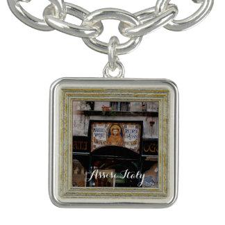 Bracelet Avec Breloques Assisi Ombrie Italie