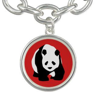 Bracelet Avec Breloques Charme d'ours panda