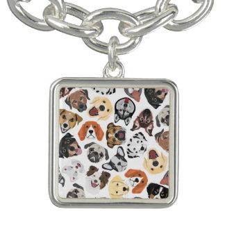 Bracelet Avec Breloques DogPattern02_01_B_Quadrat.ai