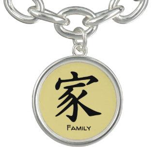 Bracelet Avec Breloques Famille dans le Chinois