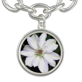 Bracelet Avec Breloques Fleur blanche de Hosta