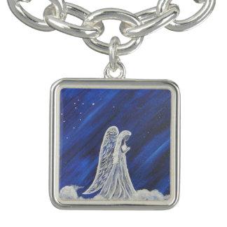 Bracelet Avec Breloques Le lion et l'ange