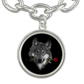 Bracelet Avec Breloques Le loup s'est levé