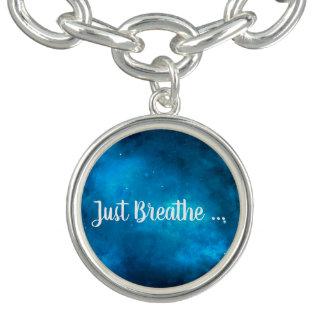 Bracelet Avec Breloques Regardez les étoiles et respirez