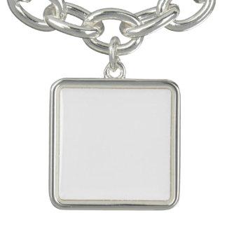 Bracelet carré de charme de coutume