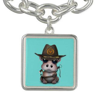 Bracelet Chasseur de zombi d'hippopotame de bébé