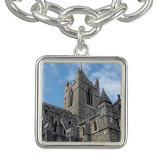 Bracelet de charme de cathédrale d'église de