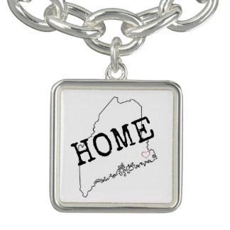 Bracelet de maison d'amour du Maine
